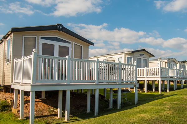 Accommodation at Devon Cliffs